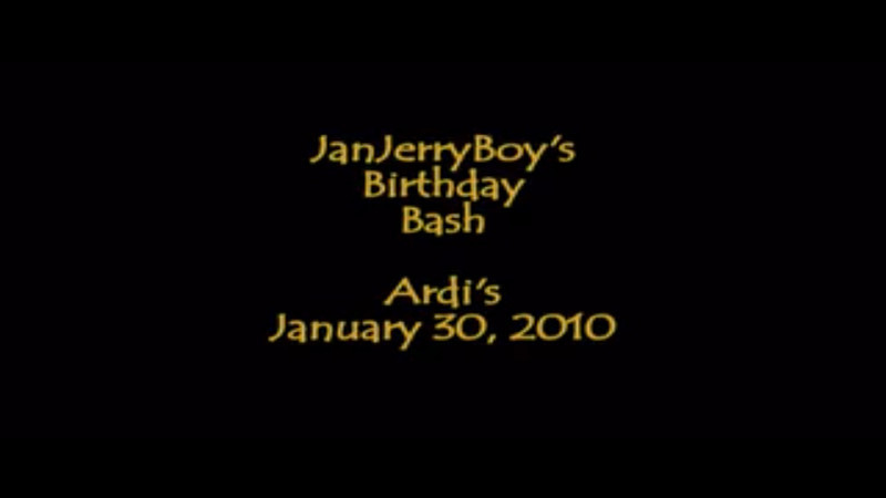 JanJerryBoy Birthday