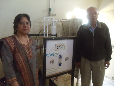 Donatiom of Water Tank and RO kant