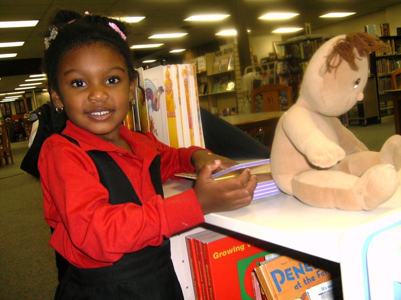 Tenia at Public Library