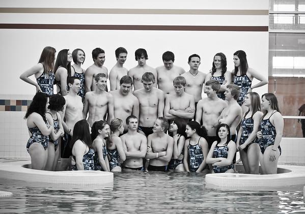 WJHS Swim Team 2011