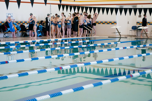WJHS Swim team 01-21-11