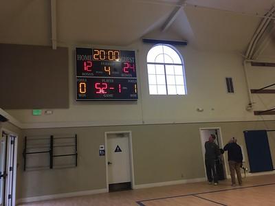 WVMS Basketball at Hillbrook 2018