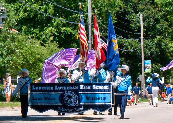 Warrior Band 2016 Local Parades