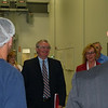MassBay President John O'Donnell enjoys his visit to Web Industries in Holliston, MA.  MassBay instructors are conducting a series of training modules at Web Industries as part of the Massachusetts Rapid Response Incentive grant program.