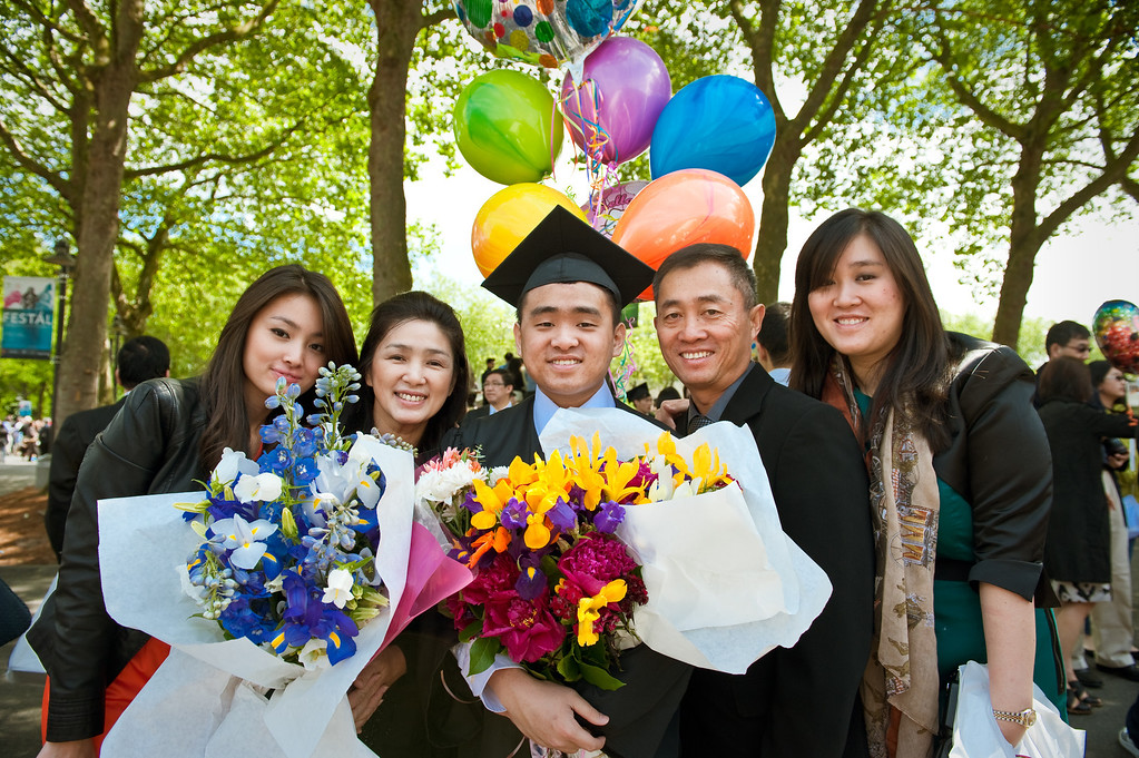 Weihao Graduation