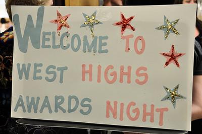 West High Awards Night April 14, 2011