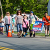 Meetinghouse and Westminster Elementary School students participated in the Walk to School Day in Friday morning. SENTINEL & ENTERPRISE / Ashley Green