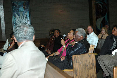 Delrose Church hosted one of the four community meetings held.