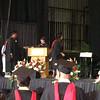 Presentation of MBA graduates