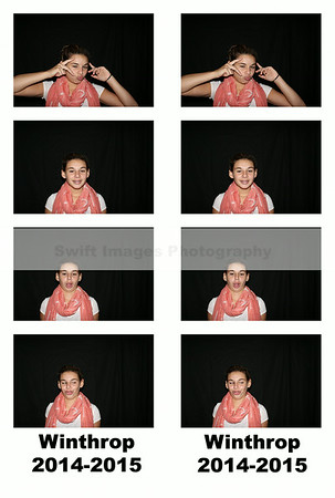 Winthrop School Photo Booth Fun