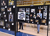 Bob Raines--Montgomery Media<br /> Photo projects lined several rows at the Wissahickon School District Art show May 21, 2015