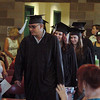 "Fred Sanchez leads in the graduates.<br /> Workforce Boulder County held its Summer 2010 GED graduation on Friday at the Izaak Walton Clubhouse in Longmont.<br /> For more photos of the graduation, go to  <a href=""http://www.dailycamera.com"">http://www.dailycamera.com</a>.<br /> Cliff Grassmick / August 20, 2010"