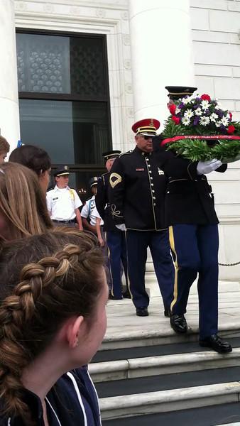 Wreath Ceremony Arlington