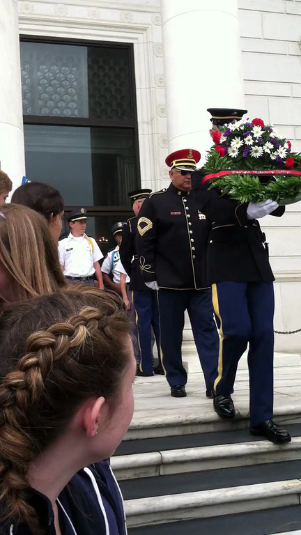 Wreath Ceremony Arlington