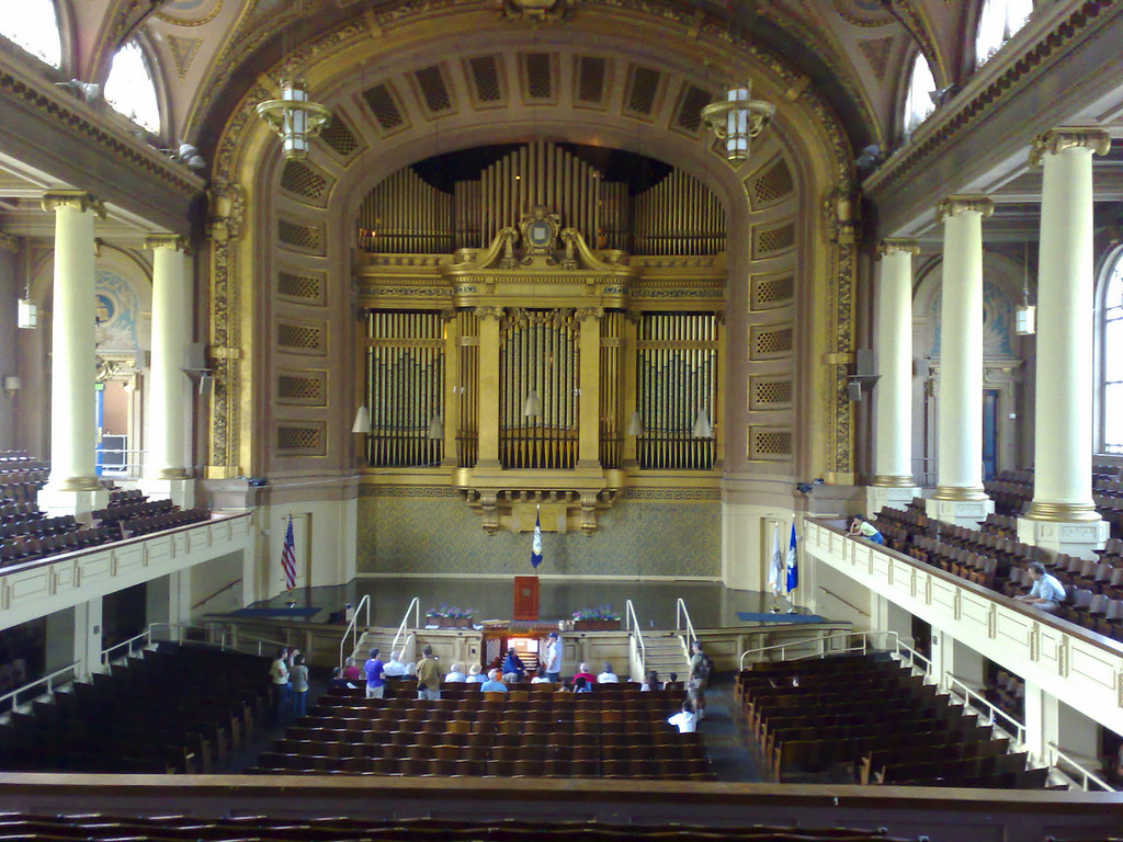 Woolsey Hall and the Newberry Organ