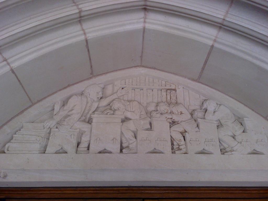 Law School Lintel - Right