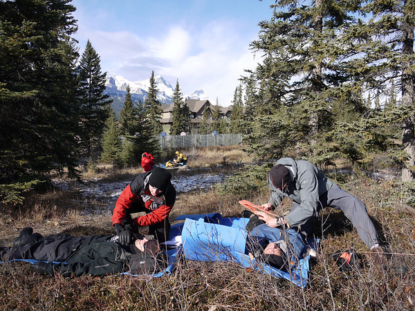 Yamnuska Wilderness First Aid and Dinner
