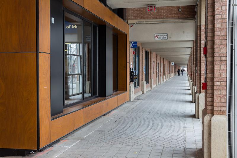 Walkway to York Lanes.