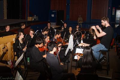 Campolindo Choir Red Rehearsal Les Miserables