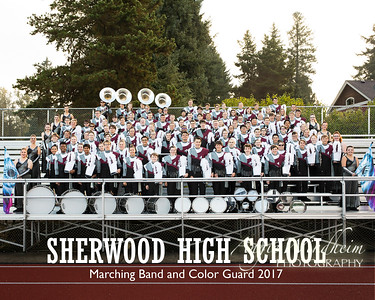 2017 SHS Marching Band and Color Guard