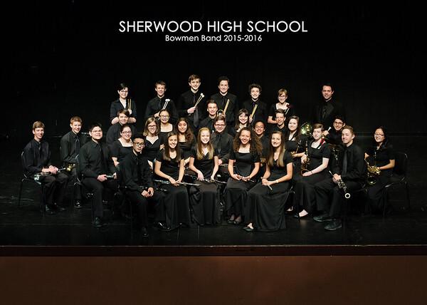 SHS Bowmen Band 2015-2016