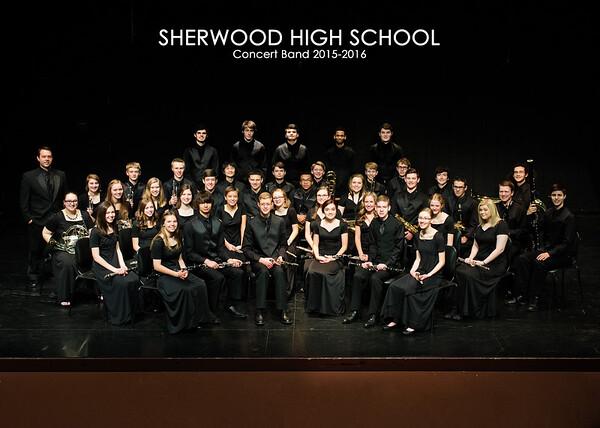 SHS Concert Band 2015-2016