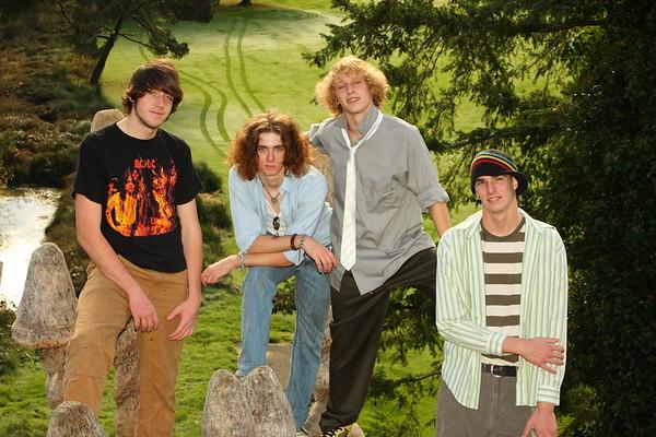 Sean, John, Bo & Logan