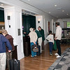 Guests check in at the Hanover Inn.