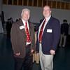 MOLLUS members - Jack Kane (PA & VA member & National Secretary) and Tee Adams, (PA JR Vice Commander) meet up at the Haverford School Reunion 5/4/12