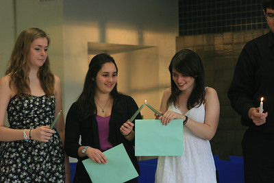 Italian Honor Society Induction - 2012
