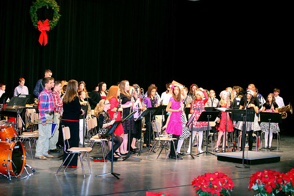 Jr.High Winter Concert 12-13-11