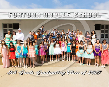 Fortuna Middle School Graduation 2015