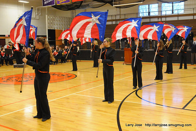 Band at Veterans Day Ceremony