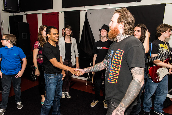 School Of Rock Philly - B-Team with Brent Hinds - May 17, 2014