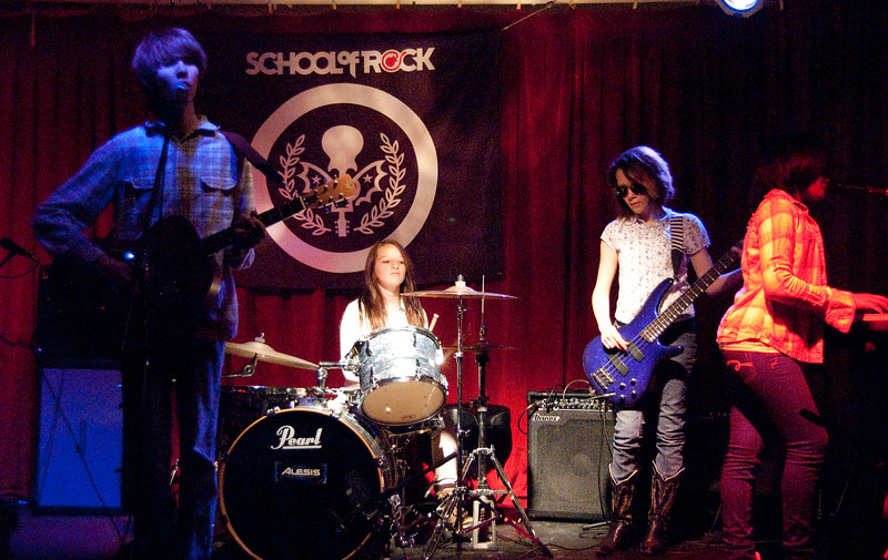 School Of Rock - Skynyrd vs. Allman at SOR Philly - April 3, 2011