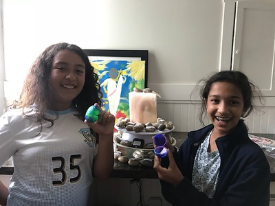 K & A Worry Stones, Amiya S. & Katsumi N. (5th Grade)