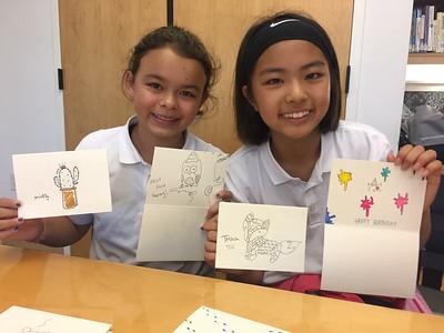 Corgi, Ava E. & Sophie P. (6th Grade)