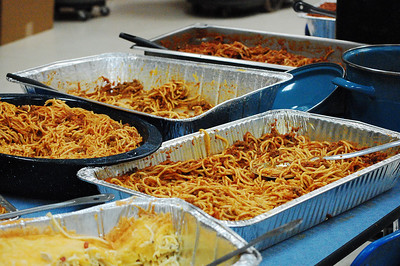 Spaghetti Dinner with plenty left over
