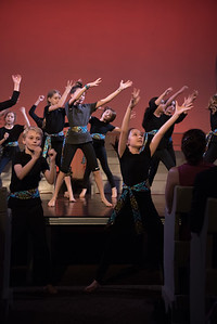 An Evening of Dance to benefit Dancers Responding to AIDS (DRA) at Friends Seminary.