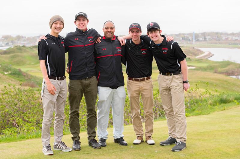 Friends Seminary Golf team at Bayonne Country Club