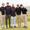 Friends Seminary Golf team at Bayonne Country Club