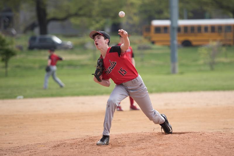 Friends Seminary boys varsity baseball
