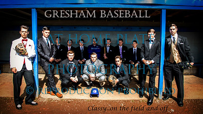 Varsity Baseball Prom 2017