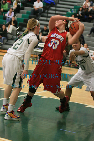 Girls Varsity Basketball Senior Night vs Centennial