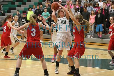 Varsity Girls Basketball Senior Night