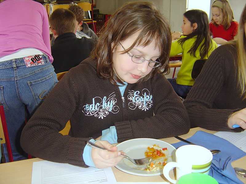 Ook Bieke lustte vele gerechten !