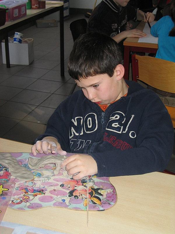 Opperste concentratie en de nodige precisie waren nodig om er een knap kunstwerk van te maken.