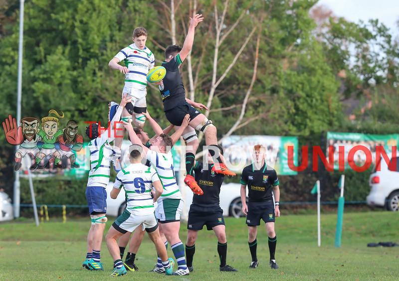 Sullivan Upper 40 Grosvenor Grammar 0, Schools, Saturday 16th November 2011