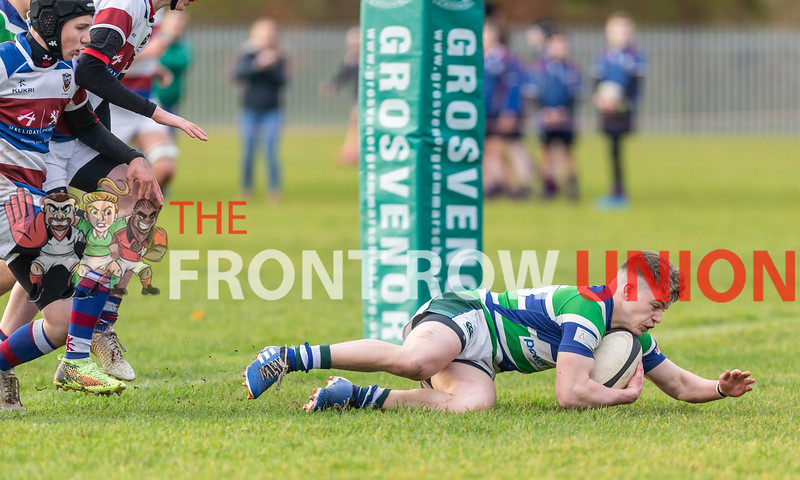 Grosvenor Grammar 36 Dalriada 5, Group D, Saturday 7th December 2019