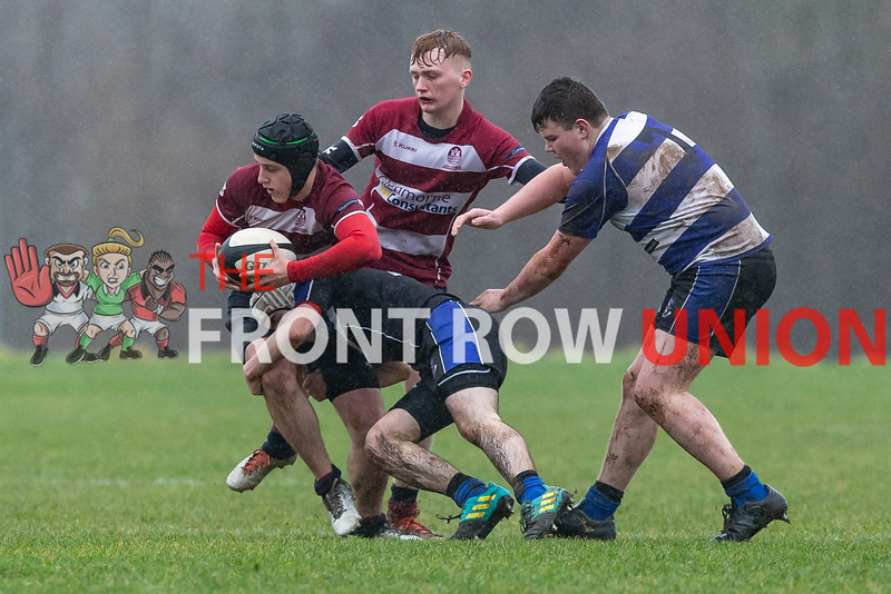Our Lady and St Pats 31 Carrick Grammar 0, Schools Bowl, Saturday 11th January 2020